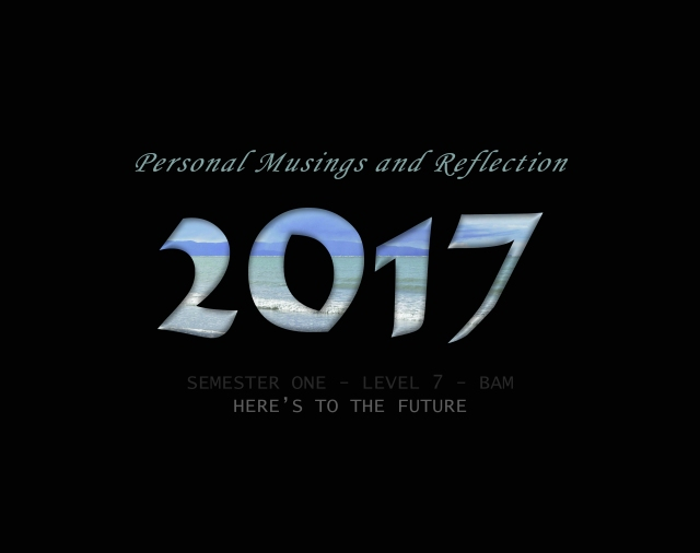 Semester 1- reflection-2017